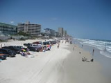 cars on Florida beach