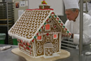 The Gingerbread House Maker: He even works though he is retired now.