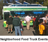 Neighborhood Food Truck Events