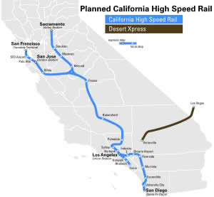 Hi-Speed Rail route