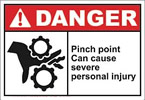 Pinch Point sign revised