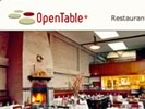 open table online reservations